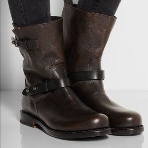 Rag & Bone leather motorcycle boots - size 6